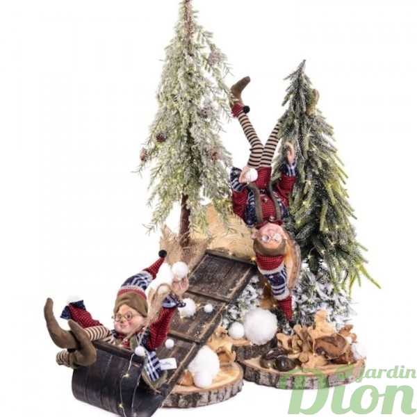 FAN-0081-lutins-luge-traineau-noel-nature