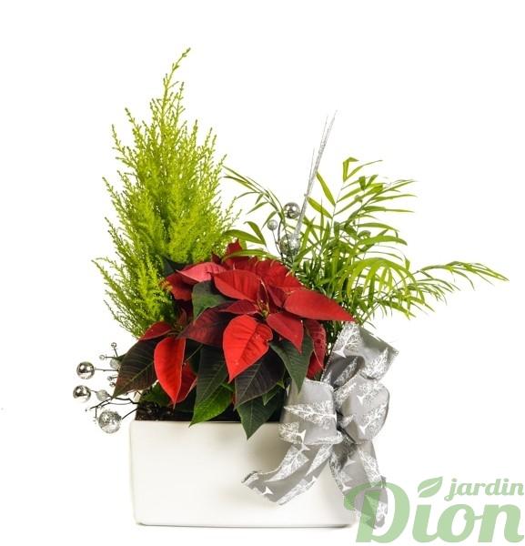 ap-0556-poinsettia-arrangement-euphorbia-decore-noel-rouge-ruban