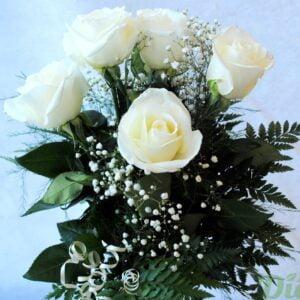 fb-0964-caprice-6 roses-couleurs-bouquet-st-valentin-amour