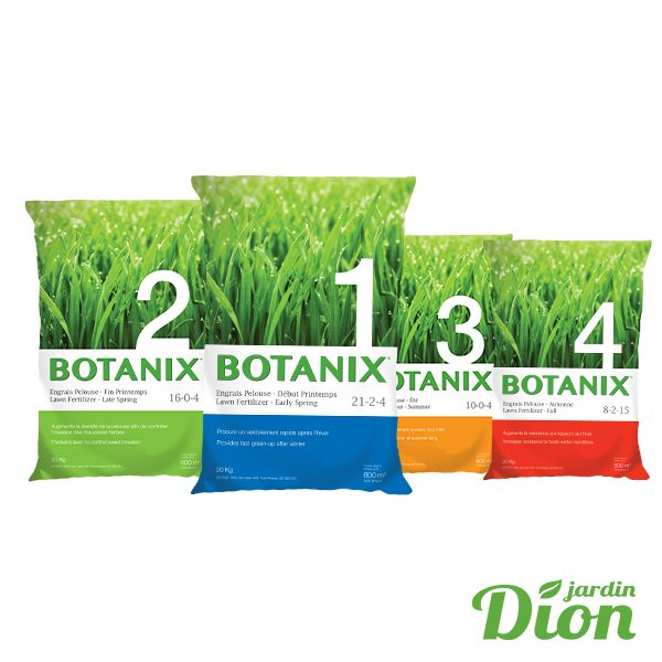 Programme d'engrais 4 étapes botanix – 20 kg
