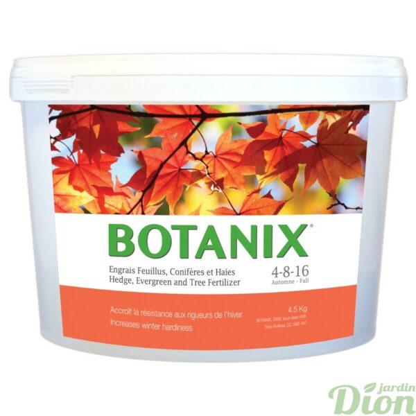 Engrais d'automne 4-8-16 pour feuillus, conifères et haies