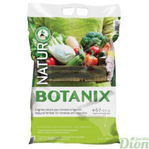 Engrais naturel pour tomates et légumes 4-5-7 avec 5% de Calcium + algues, 8kg