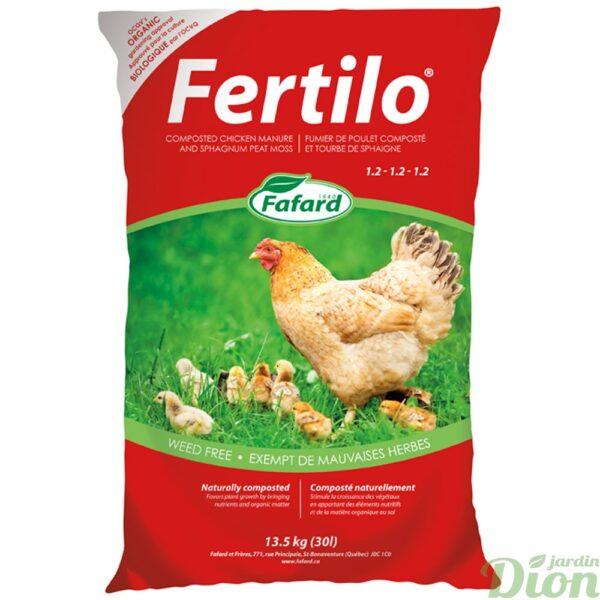Fumier de poulet Fertilo