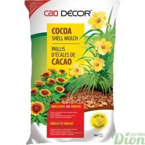 Paillis d'écales de cacao
