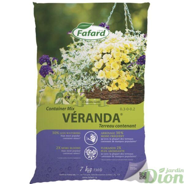 Terreau contenant Véranda