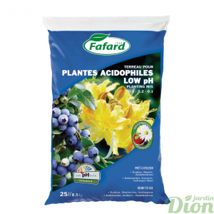 Terreau pour plantes acidophiles