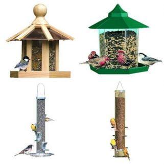 mangeoires d'oiseaux