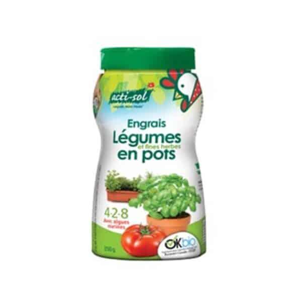 Engrais naturel et bio pour tomates et légumes