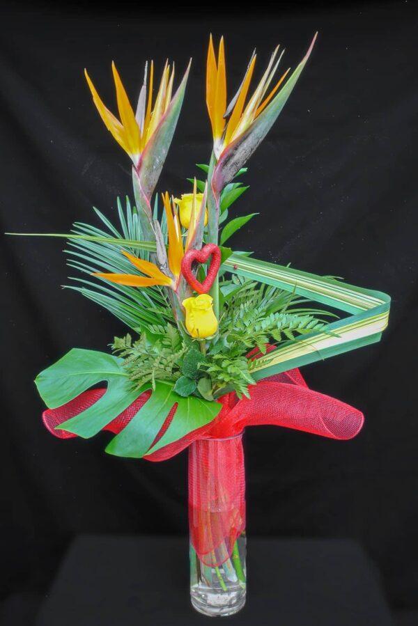 l'oiseau de mon coeur – 45.99 ( sans vase)
