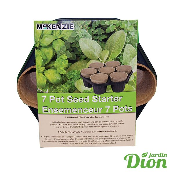 Ensemenceur 7 pots McKenzie (2548996)