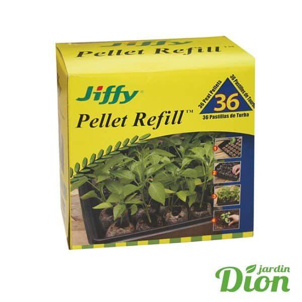 Recharge de pastille Jiffy bte 36 unités (2056813D)