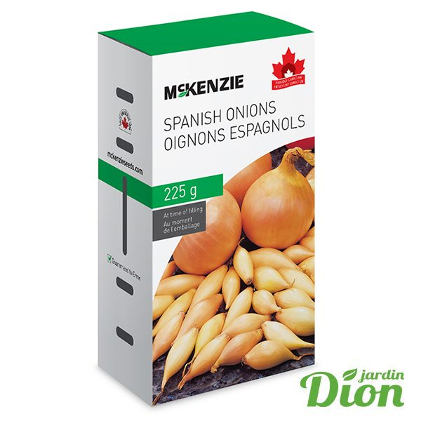 Oignons espagnols Mckenzie 225g (7607005)