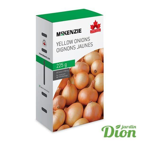 Oignons jaunes Mckenzie 225g (7607001)