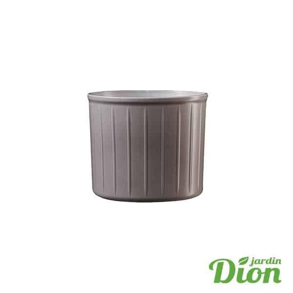 cache pot Laos gris-tiédé 8 x 7 cm de haut (2774756)