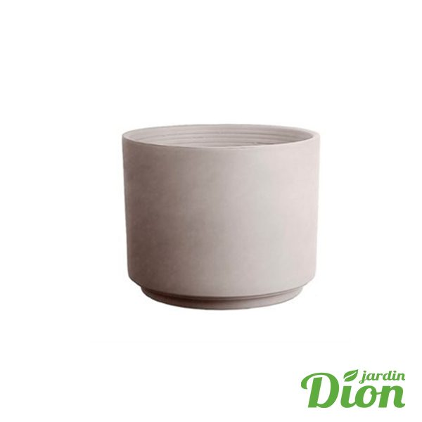 vase cilindro 25 cm greige (2715130)